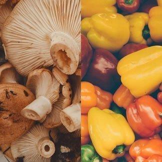 Mushrooms & Peppers